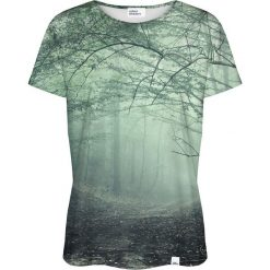 Colour Pleasure Koszulka damska CP-030 135 czarno-zielona r. XXXL/XXXXL. Fioletowe bluzki damskie marki Colour pleasure, uniwersalny. Za 70,35 zł.