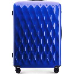 Walizka duża 56-3H-553-90. Niebieskie walizki marki Wittchen, z gumy, duże. Za 219,00 zł.