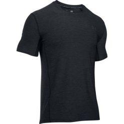Under Armour Koszulka męska SUPERVENT FITTED SS Czarna r. XL (1289597-001). Szare koszulki sportowe męskie marki Under Armour, z elastanu, sportowe. Za 139,00 zł.