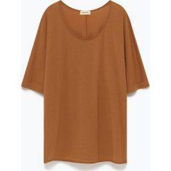 """T-shirty damskie: Koszulka """"Landway"""" w kolorze brązowym"""