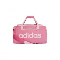 Torby sportowe adidas  Torba Linear Core Duffel Small. Czerwone torby podróżne Adidas. Za 99,95 zł.