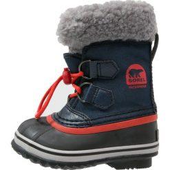 Buty zimowe damskie: Sorel YOOT PAC Śniegowce collegiate navy/sail red