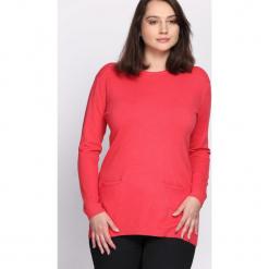 Koralowy Sweter Morning Drizzle. Pomarańczowe swetry klasyczne damskie Born2be, na jesień, xxl. Za 79,99 zł.