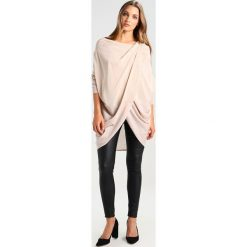 Swetry klasyczne damskie: AllSaints SILK ITAT SHRUG Sweter rose