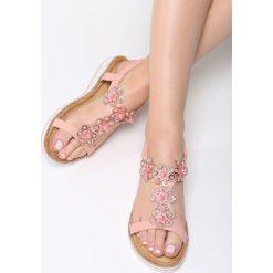 Różowe Sandały Anticipation. Czerwone sandały damskie vices, na płaskiej podeszwie. Za 74,99 zł.