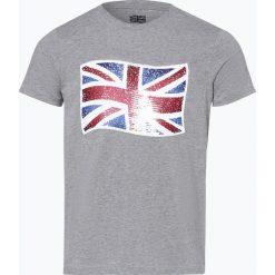 Finshley & Harding London - T-shirt męski, szary. Czarne t-shirty męskie marki BIG STAR, z gumy. Za 89,95 zł.