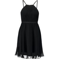 Laona Sukienka koktajlowa jet black. Czarne sukienki koktajlowe marki Laona, z materiału. W wyprzedaży za 503,20 zł.