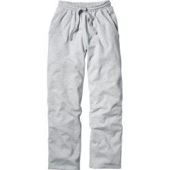 Spodnie dresowe męskie: Spodnie dresowe Regular Fit bonprix jasnoszary melanż