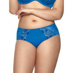 """Figi """"Marion"""" w kolorze niebieskim. Niebieskie figi Kinga, xs, w koronkowe wzory, z koronki. W wyprzedaży za 34,95 zł."""
