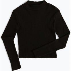Bluzki dziewczęce: Review - Dziewczęca koszulka z długim rękawem, czarny