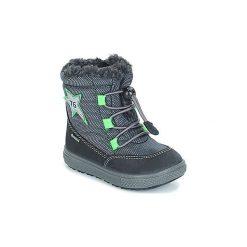 Śniegowce Dziecko Primigi  PBZGT 23730 GORE-TEX. Niebieskie buty zimowe chłopięce marki Primigi, z gore-texu. Za 309,00 zł.