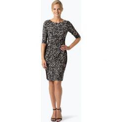 LAUREN RALPH LAUREN - Sukienka damska, czarny. Czarne sukienki balowe Lauren Ralph Lauren, uniwersalny, z kontrastowym kołnierzykiem. Za 749,95 zł.