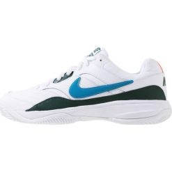 Nike Performance COURT LITE CLAY Obuwie do tenisa Outdoor white/neo turquoise/hype. Białe buty do tenisa męskie Nike Performance, z gumy. Za 229,00 zł.