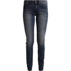 GStar 3301 MID SKINNY Jeans Skinny Fit cerro stretch denim. Niebieskie rurki damskie G-Star, z bawełny. Za 419,00 zł.