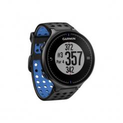 Zegarek GPS do golfa Approach S5 czarny. Czarne zegarki męskie Garmin. W wyprzedaży za 1149,00 zł.