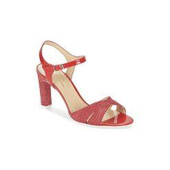 Sandały France Mode  ZEN. Czerwone rzymianki damskie France Mode. Za 433,30 zł.