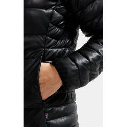 Napapijri AERONS Kurtka ze skóry ekologicznej black. Szare kurtki damskie marki Napapijri, l, z elastanu, z kapturem. W wyprzedaży za 629,50 zł.