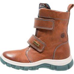 Naturino NATURINO URAL Śniegowce petrolio. Brązowe buty zimowe chłopięce Naturino, z materiału. W wyprzedaży za 251,40 zł.