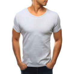 T-shirty męskie: T-shirt męski szary (rx2590)