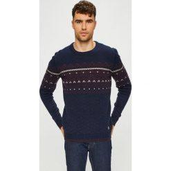 Blend - Sweter. Czarne swetry klasyczne męskie Blend, l, z dzianiny, z okrągłym kołnierzem. W wyprzedaży za 139,90 zł.