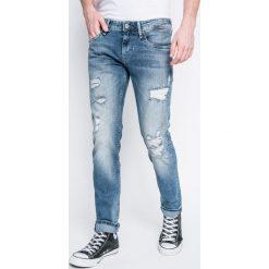 Pepe Jeans - Jeansy HATCH. Niebieskie rurki męskie marki Pepe Jeans. W wyprzedaży za 399,90 zł.