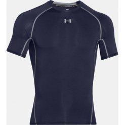 Under Armour Koszulka HeatGear SS Compression granatowy r. M (1257468-410). Niebieskie koszulki sportowe męskie marki Under Armour, m. Za 91,75 zł.