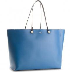 Torebka FURLA - Eden 961956 B BMN8 H77 Genziana e/Toni Camelia. Niebieskie torebki klasyczne damskie Furla, ze skóry, duże. W wyprzedaży za 1289,00 zł.