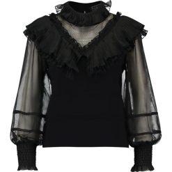 Bluzki asymetryczne: Navy London SHAE Bluzka black