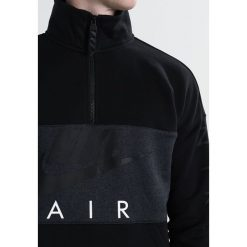 Bejsbolówki męskie: Nike Sportswear AIR HALF ZIP TOP Bluza black/anthracite/black