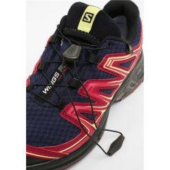 Salomon WINGS FLYTE 2 GTX Obuwie do biegania Szlak evening blue/beet red/sunny lime. Szare buty do biegania damskie marki Salomon. W wyprzedaży za 471,20 zł.