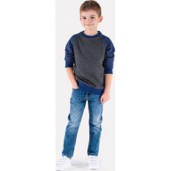 Bluzy chłopięce rozpinane: BLUZA DZIECIĘCA BEZ KAPTURA KB003 - GRAFITOWA