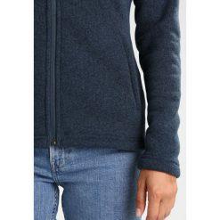 The North Face CRESCENT  Kurtka z polaru mottled dark blue. Niebieskie kurtki sportowe damskie marki The North Face, xs, z materiału. W wyprzedaży za 303,20 zł.