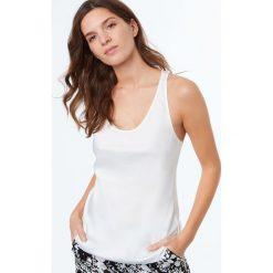 Etam - Top piżamowy Elegante. Niebieskie piżamy damskie marki Etam, l, z bawełny. W wyprzedaży za 59,90 zł.