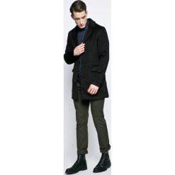Trussardi Jeans - Koszula. Szare koszule męskie jeansowe marki Trussardi Jeans, m, z klasycznym kołnierzykiem, z długim rękawem. W wyprzedaży za 329,90 zł.