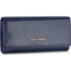 Duży Portfel Damski EVA MINGE - Soledad 2R 17NB1372181EF  107. Niebieskie portfele damskie Eva Minge, ze skóry. W wyprzedaży za 149,00 zł.