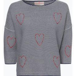 Swetry klasyczne damskie: Lieblingsstück – Sweter damski – PatriciaK, niebieski