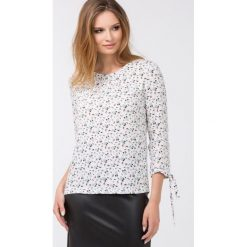 Bluzki asymetryczne: Bluzka z uroczym nadrukiem