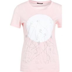 T-shirty damskie: Bruuns Bazaar CLEO PRINT TEE Tshirt z nadrukiem pink