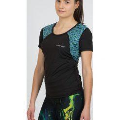 Bluzki asymetryczne: Spokey Koszulka damska Rain czarna r. M (839497)