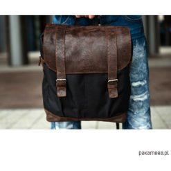 Plecaki męskie: Skórzany plecak męski Paolo Peruzzi Vintage 919