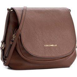 Torebka COCCINELLE - BF3 Janine E1 BF3 55 01 01 Brule 074. Brązowe listonoszki damskie marki Coccinelle. W wyprzedaży za 979,00 zł.