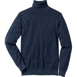 Golfy męskie: Sweter z golfem Regular Fit bonprix ciemnoniebieski
