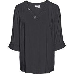 Bluzki asymetryczne: Bluzka z cekinami bonprix czarny