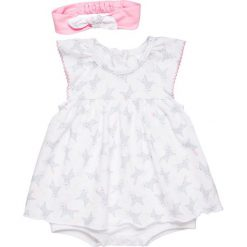 Sukienki dziewczęce: 3 Pommes BABY WELCOME BABY HEADBAND COMBIDRESS Sukienka z dżerseju pink medium