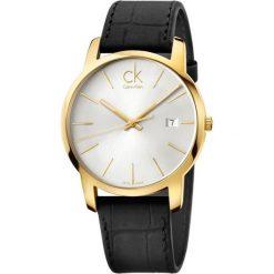 ZEGAREK CALVIN KLEIN CITY K2G2G5C6. Szare zegarki męskie marki Calvin Klein, szklane. Za 1099,00 zł.