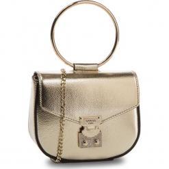 Torebka GUESS - Lynda Mini HWVG7 185730  GOL. Żółte torebki klasyczne damskie Guess, z aplikacjami, ze skóry ekologicznej. Za 449,00 zł.