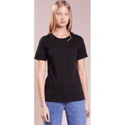 T-shirty damskie: CLOSED Tshirt basic black