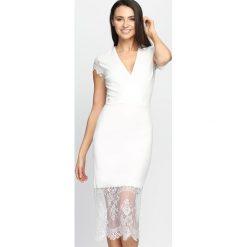 Sukienki: Biała Sukienka Most Curious