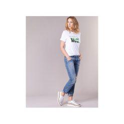T-shirty z krótkim rękawem Vero Moda  VMHENNY. Niebieskie t-shirty damskie marki Vero Moda, z bawełny. Za 71,20 zł.