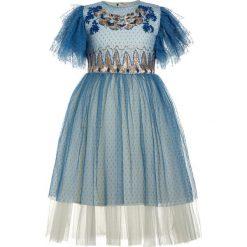 Sukienki dziewczęce z falbanami: Billieblush Sukienka koktajlowa hellblau